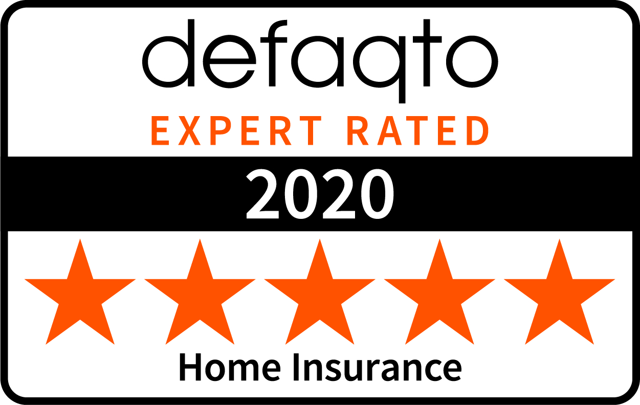 defaqto expert rated 2020 five stars Home Insurance